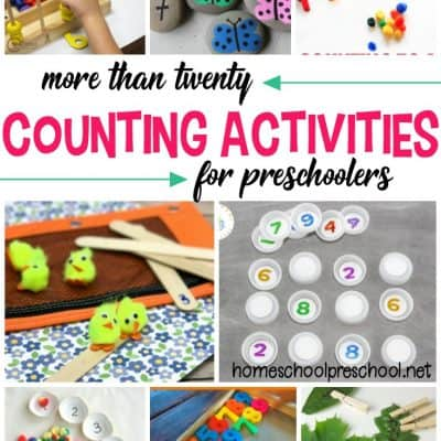 Hands-On Number Recognition and Counting Activities