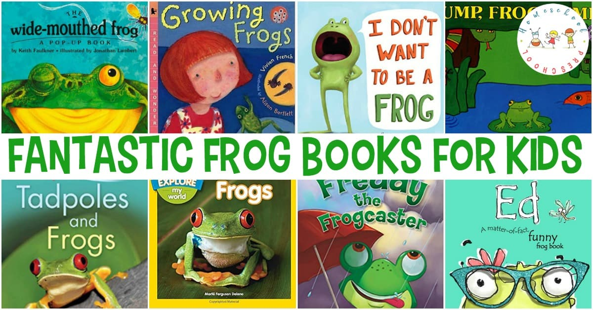 Get your preschoolers excited about amphibians with these frog books for kids. Whether you are exploring the life cycle of a frog or enjoying silly frog story books, pique your little ones' interest with these.