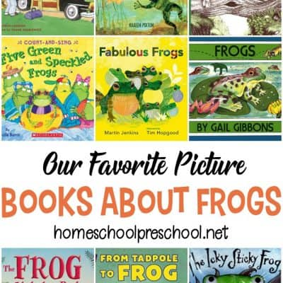 20+ of the Most Fantastic Frog Books for Kids