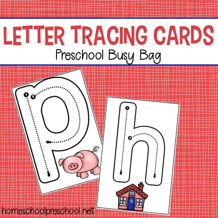 image about Printable Letter Cards titled Letter Tracing Playing cards Preschool Chaotic Bag