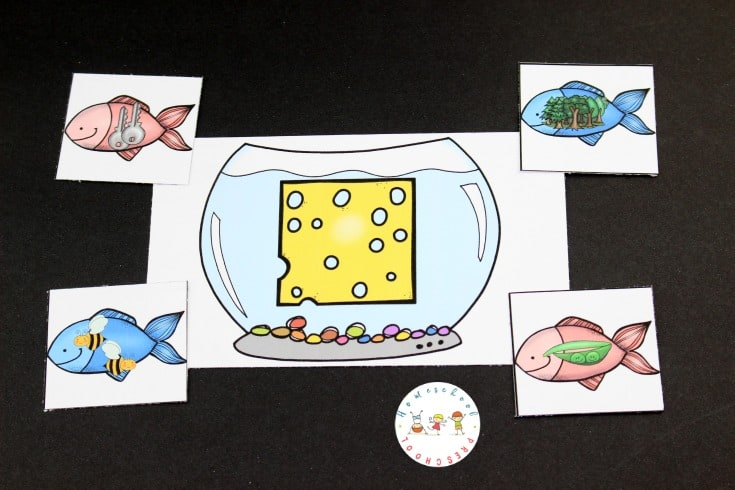 Young learners will explore rhyming words with this free set of One Fish Two Fish rhyming activities. Focus on 14 different sounds with this printable activity pack.