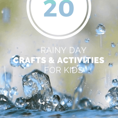 20 Rain Crafts and Activities