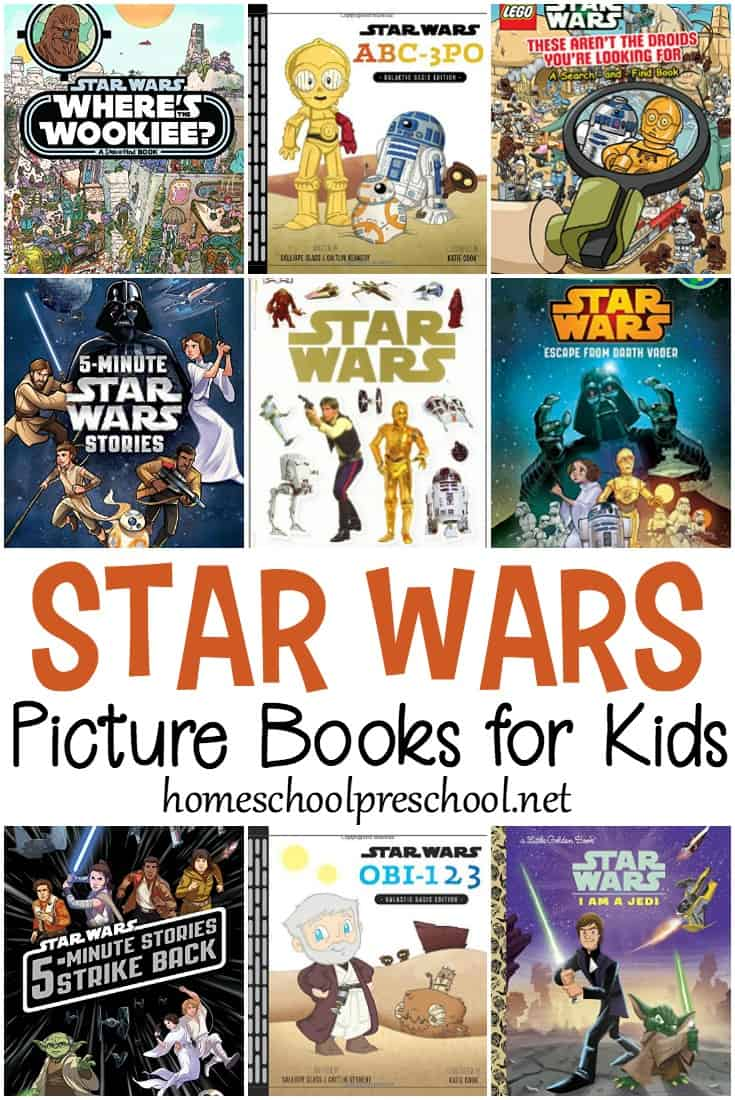A few of my kids adore Star Wars. They pretend to be Jedi. They build Star Wars Legos. And they devour Star Wars books! Discover nine of our favorite Star Wars books for children!