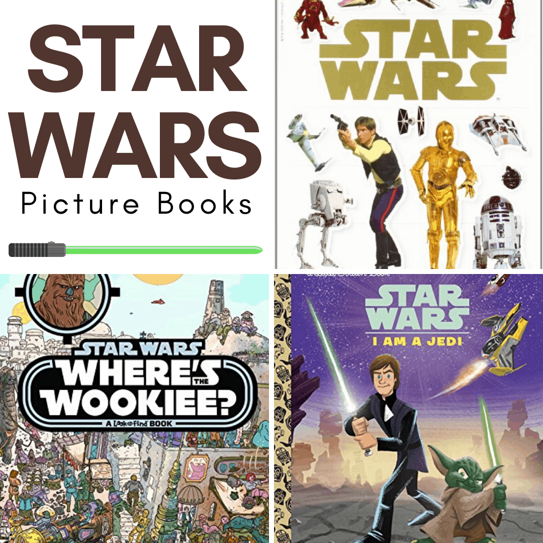 A few of my kids adore Star Wars. They pretend to be Jedi. They build Star Wars Legos. And they devour Star Wars books for kids! I don't think they'll ever get sick of Star Wars. They are true Star Wars fans!