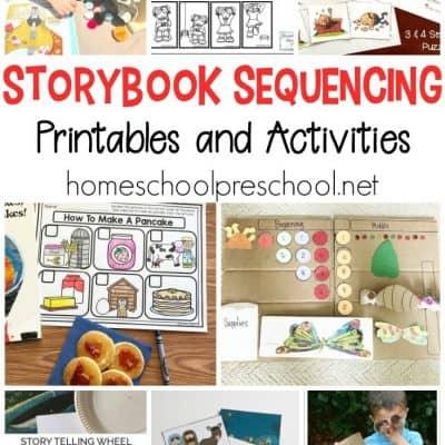 10 Story Sequencing Cards Printable Activities for Preschoolers