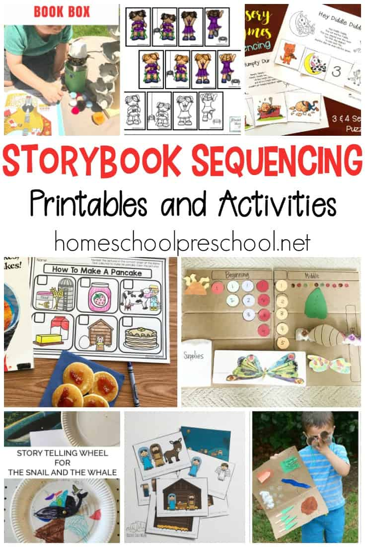 picture regarding Sequencing Cards Printable titled 10 Tale Sequencing Playing cards Printable Actions for Preschoolers