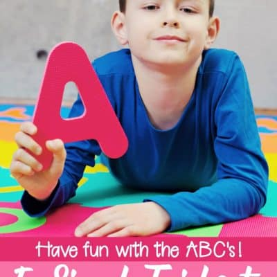 5 Simple Tricks for Teaching the Alphabet to Preschoolers