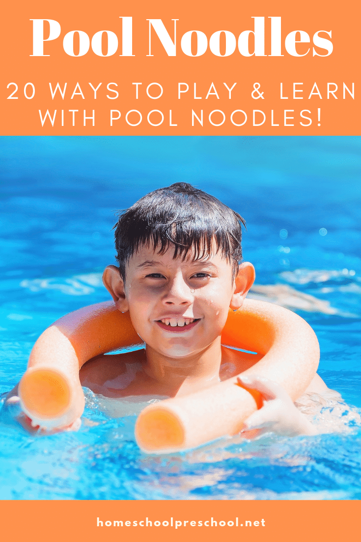 22 Pool Noodle Ideas for Preschool Playing and Learning