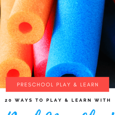 Play and Learn with These Pool Noodle Ideas