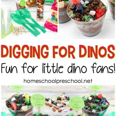 Dinosaur Food: Digging for Dinosaurs Snack