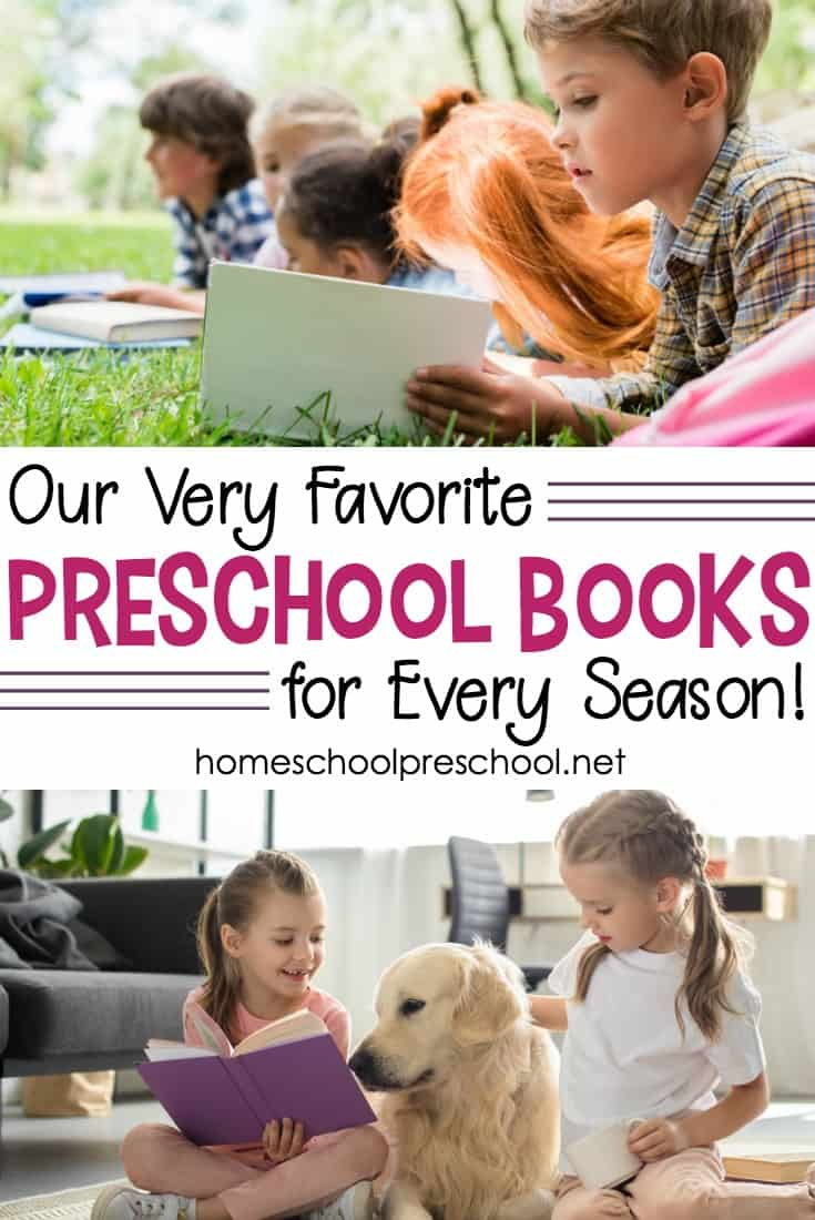 Come explore this amazing growing collection of our favorite preschool books on a wide variety of topics covering animals, seasons, holidays, and much more!