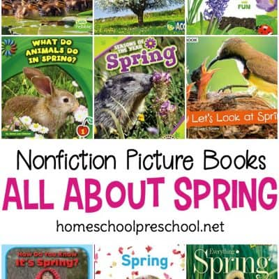 Nonfiction Spring Books for Preschoolers
