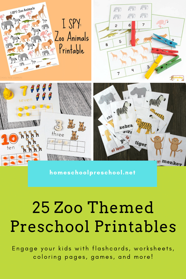 From craft templates to scavenger hunts and everything in between. Pique your little one's interest in zoo animals with these preschool zoo printables.