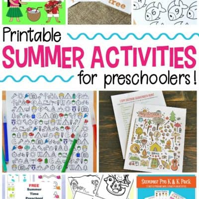 25 FREE Printable Summer Activities for Kids