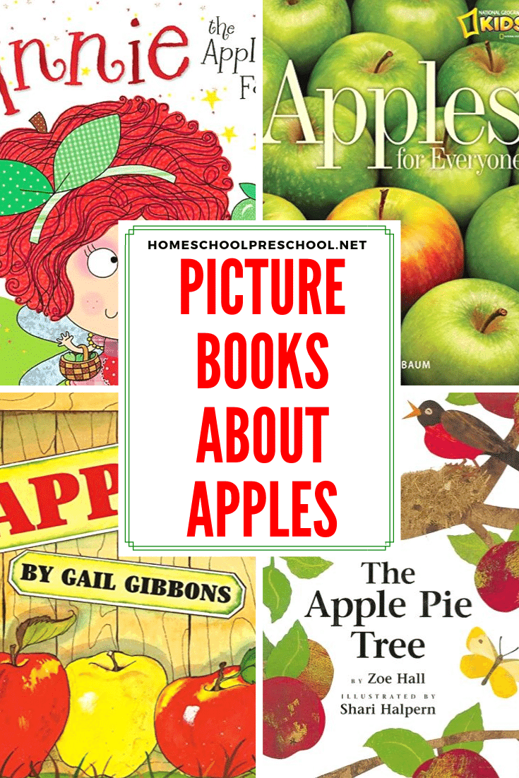 These preschool apple books are ripe for the pickin' and your little ones are sure to love each one. Fill your autumn book basket with books from this list.