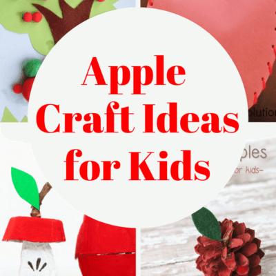 Apple Craft Ideas for Preschoolers