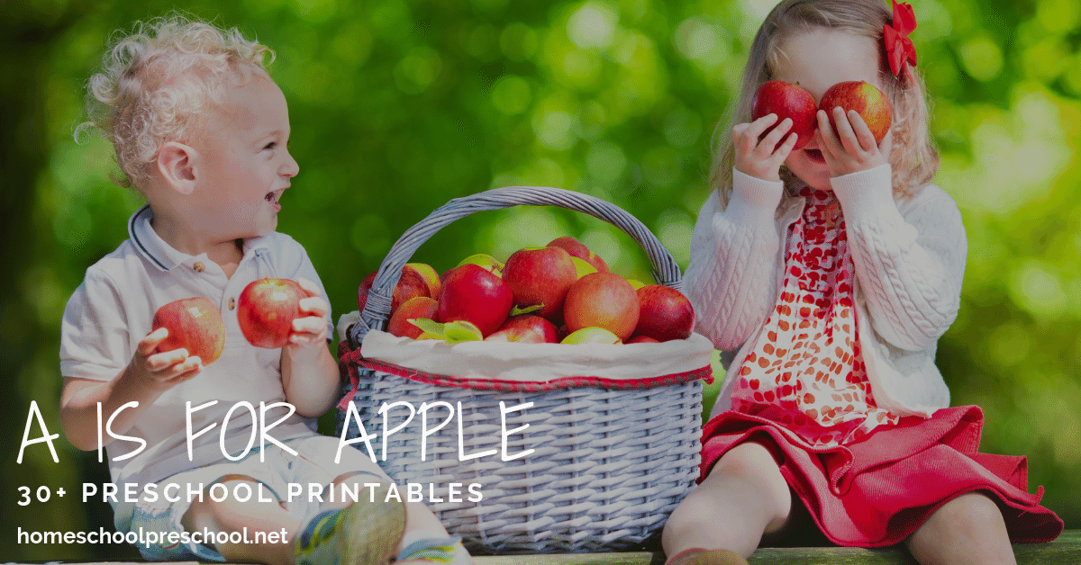 Start the new year with a fun and engaging Apples Preschool Theme! This amazing collection of apple printables is just what you need to get started.