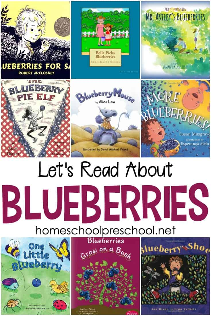My kids adore blueberries. And these blueberry books are just as delightful to read as blueberries are to eat.