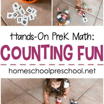 Simple Hands-On Counting Activity for Preschoolers