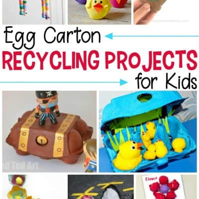 Simple Egg Carton Recycling Projects
