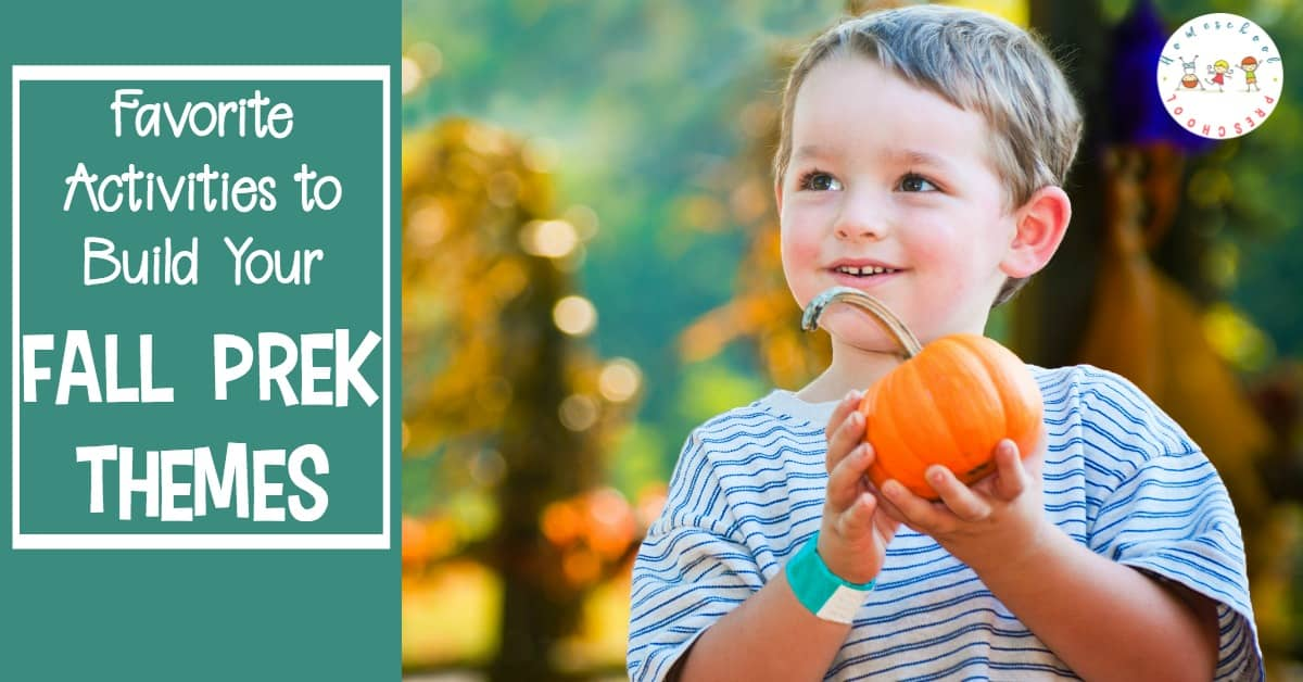 Autumn has arrived! Celebrate autumn with this awesome collection of activities that will help you plan your fall preschool theme.