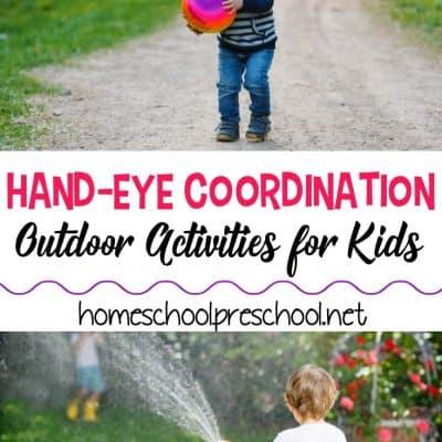 8 Outdoor Hand Eye Coordination Activities for Kids