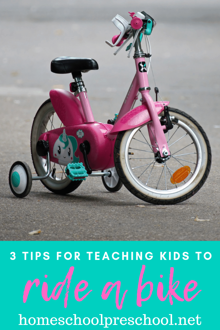 Summer is a great time to teach your kid to ride a bike. Here are three simple tips to make it easier for you to help your child ditch the training wheels.
