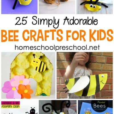 25 Adorable Crafts Featuring Bees for Kids