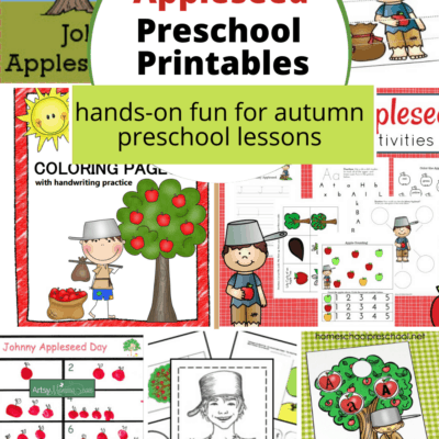 Printable Johnny Appleseed Activities
