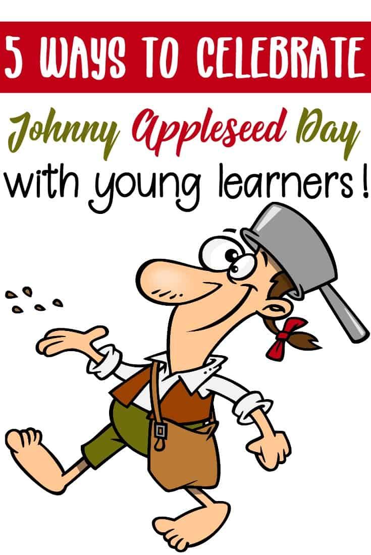 On September 26, celebrate Johnny Appleseed Day with these fun, hands-on activities that teach about his life and about apples.