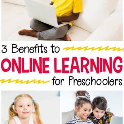 3 Benefits to Online Learning for Preschoolers