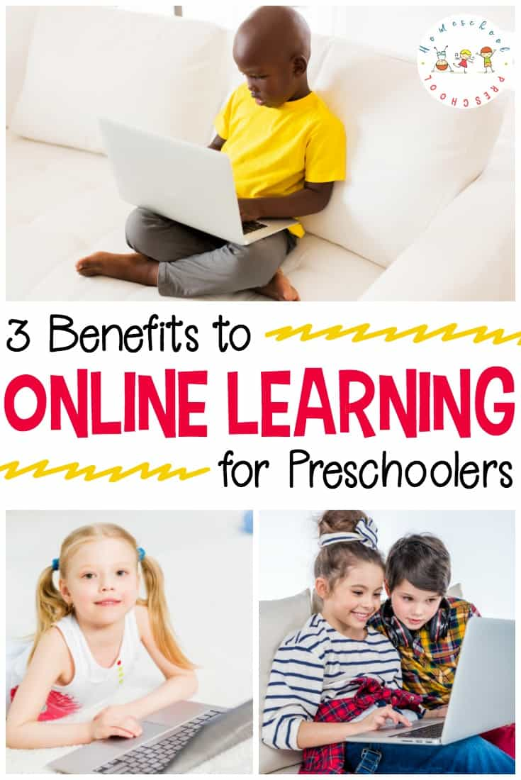 Technology can be a real asset to teaching and reinforcing important academic skills. Discover 3 benefits to using online learning with preschoolers.