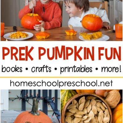 30 Activities to Add to Your Preschool Pumpkin Theme