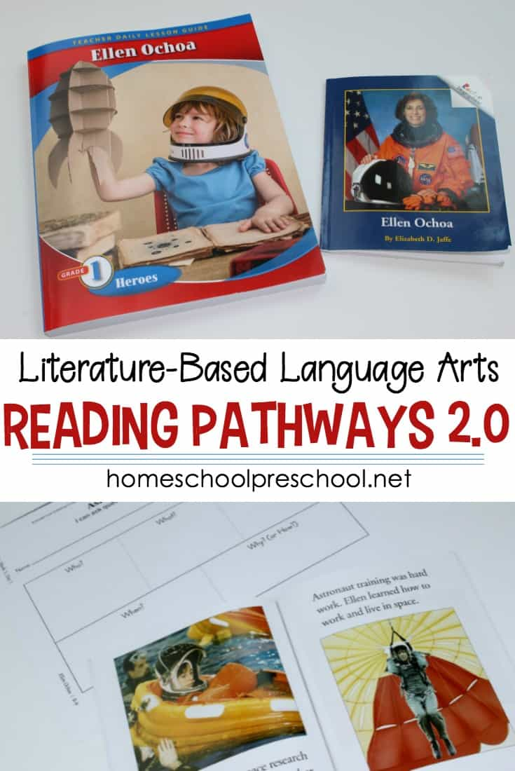 If you are a fan of teaching language arts with literature but creating lessons plans intimidates you, check out our Kendall Hunt Pathways 2.0 review.  #homeschoolprek #readingpathways #curriculumreview