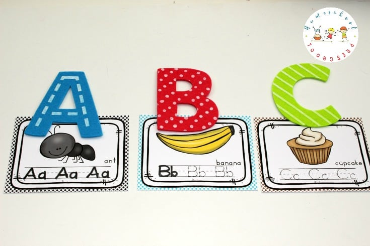 Do you have a little one who is learning to write their letters? These printable alphabet writing cards are great for on-the-go handwriting practice!