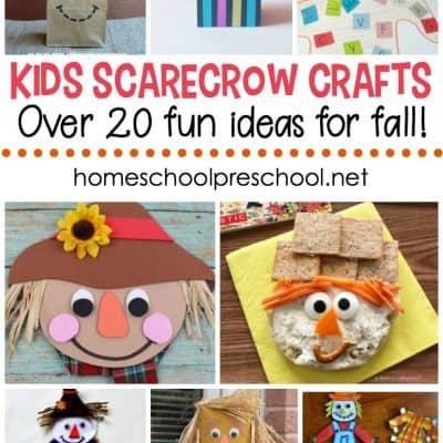 Kids Scarecrow Crafts and Activities