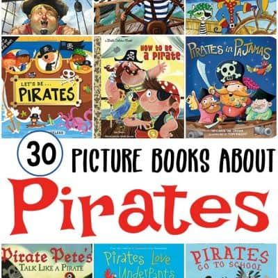 Our Very Favorite Pirate Books for Kids