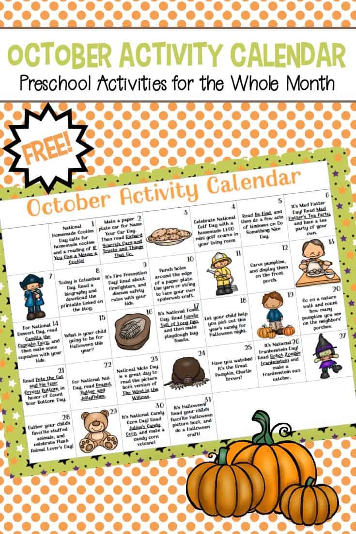 October Calendar Ideas For Preschool : Pumpkin patch printable activities for preschoolers