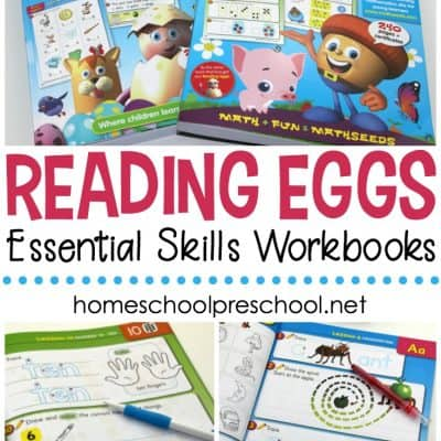 Reading Eggs Workbooks: A Review of Essential Skills Workbooks