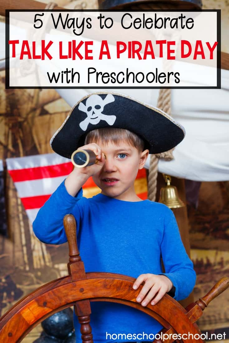 Celebrate Talk Like a Pirate Day with your preschoolers! Choose from this collection of crafts, books, and hands-on activities!