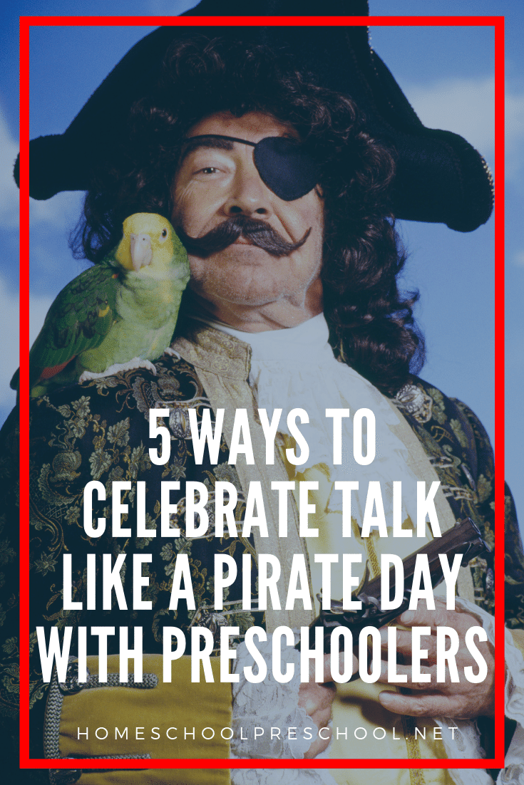 Don't miss these Talk Like a Pirate Day activities your kids will love! Choose from this collection of crafts, books, and hands-on pirate activities!