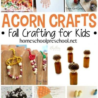 10 Adorable Acorn Crafts for Kids