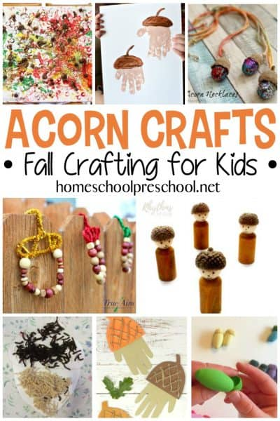 Get ready for fall this these adorable acorn crafts for kids! These do-it-yourself activities for kids are a fun way to celebrate fall's arrival.