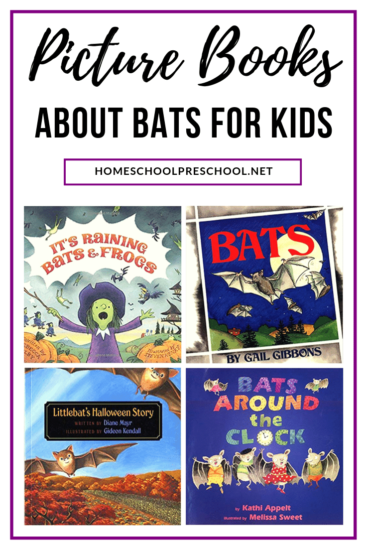 Halloween is coming! It's the perfect time to curl up with one of our favorite fiction or nonfiction picture books about bats for preschoolers.
