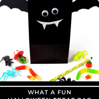 DIY Bat Halloween Treat Bags