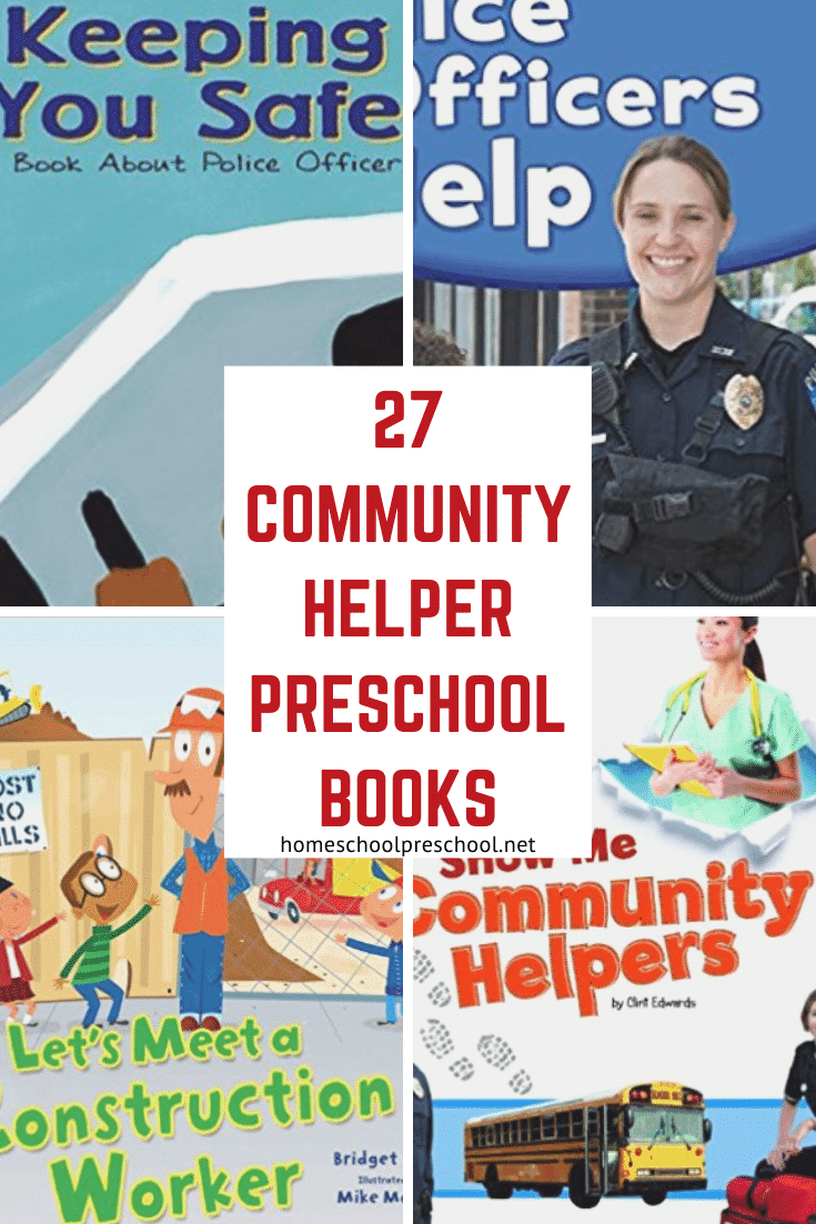 It's important for kids to learn about people who keep their communities safe. This collection of community helper books is the perfect introduction!