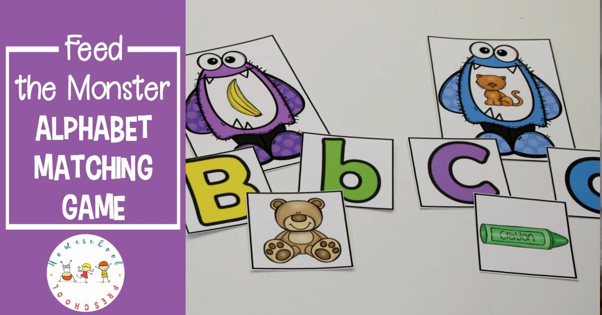 Teaching the ABCs should be fun and engaging. It will be when you prepare this Feed the Monster alphabet game for your preschoolers!