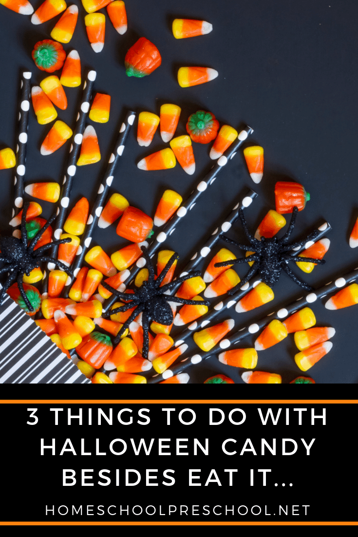 Are you looking for ways to use up your leftover Halloween candy? If so, check out these fantastic ideas that will get your kids' creative juices flowing!