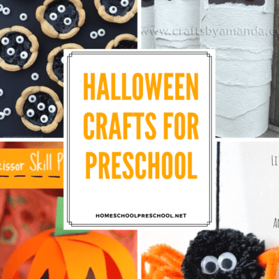 28 MORE Preschool Halloween Crafts