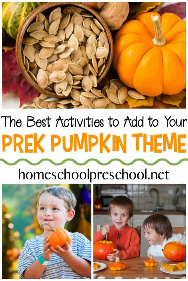 Temperatures are dropping, and it's time to turn our attention to pumpkins. These activities are perfect for your preschool pumpkin theme.